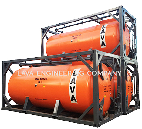 ISO Tank Containers | Lava Engineering